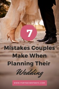 Wedding Planning Tips - 7 Mistakes Couples Make When Planning Their Wedding