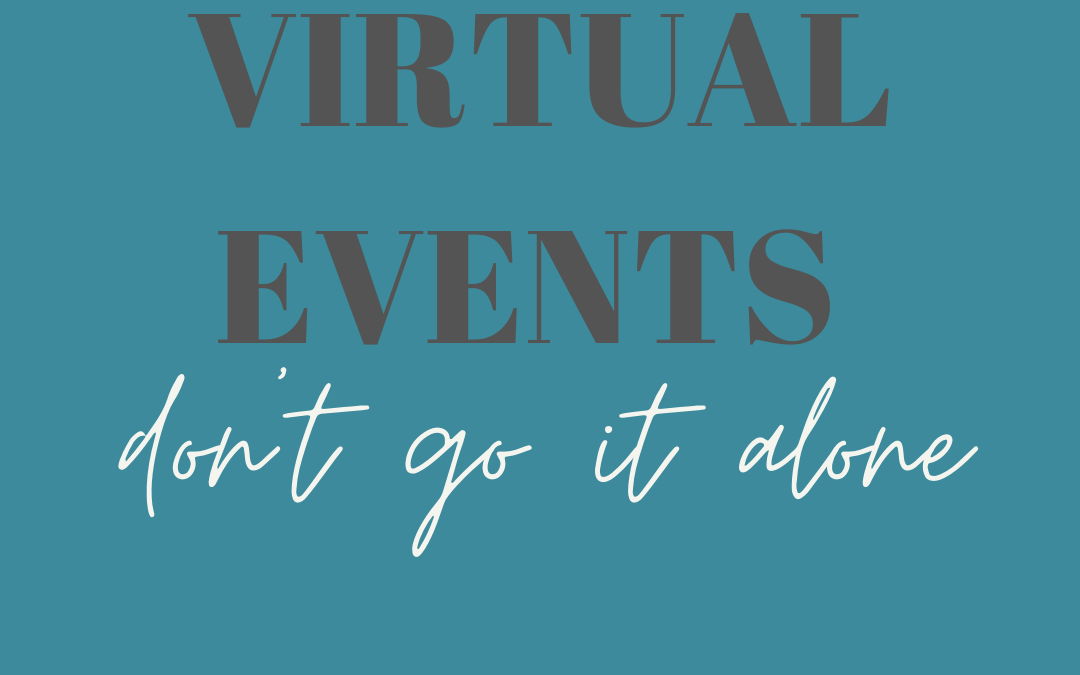 Convert Your In-Person Events to Virtual Events