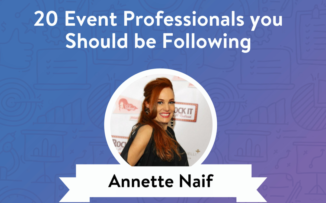 Featured in 20 Event Professionals You Should be Following